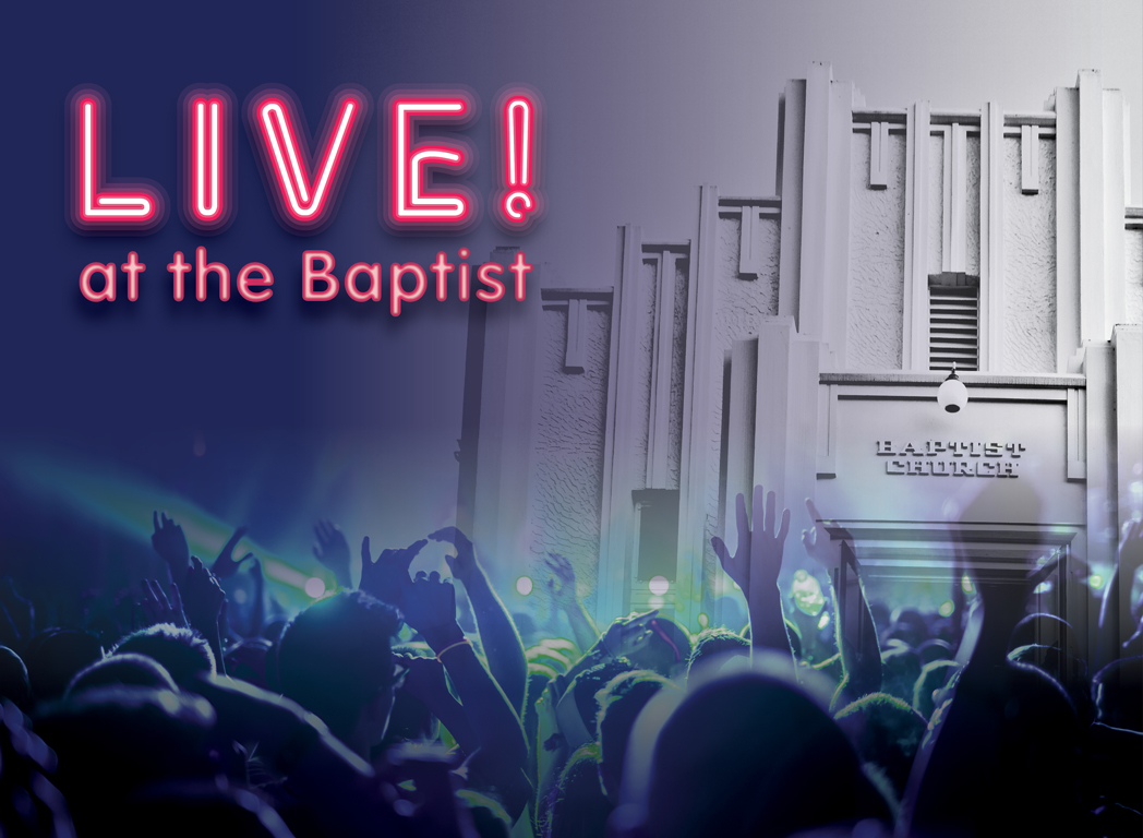 Live! at the baptist, at Studio 188 Ipswich